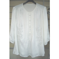 LADIES' VISCOSE WOVEN BLOUSE